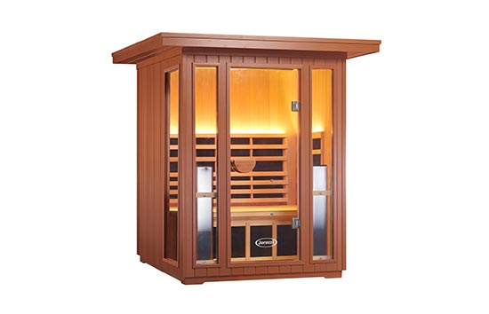 Clearlight Infrared® - Jacuzzi® Outdoor saunas