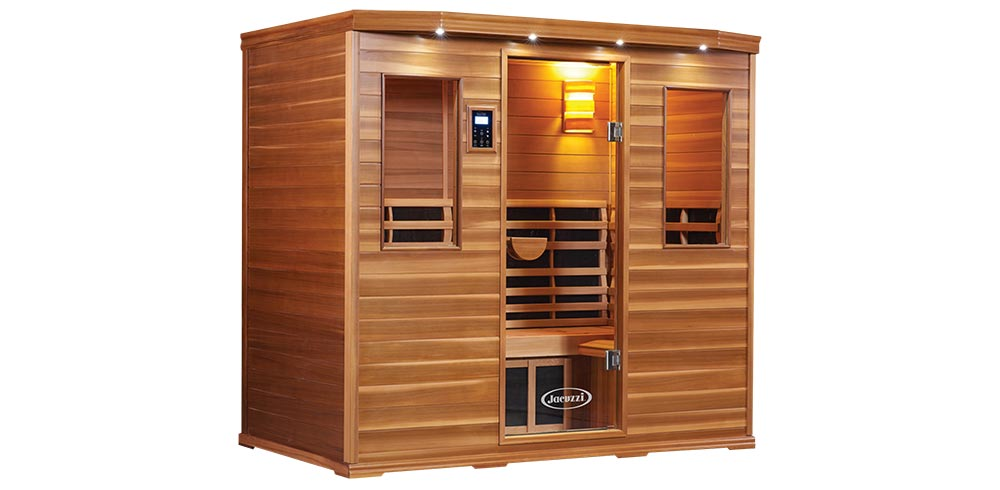 Clearlight Infrared® - Jacuzzi® Premier saunas