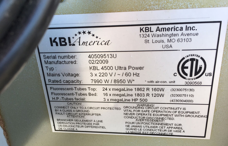 KBL 4500 Ultra Power